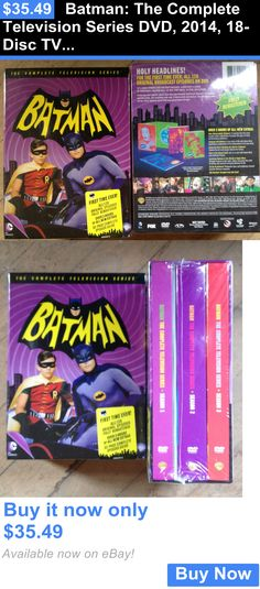 cds dvds vhs: Batman: The Complete Television Series Dvd, 2014, 18-Disc Tv~New~Free Shipping BUY IT NOW ONLY: $35.49
