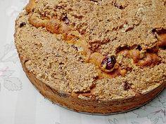 Kirschkuchen mit Nussbaiser Banana Bread, Desserts, Food, Cherry Cake, Merengue, Cherries, Dessert Ideas, Food Portions, Food Food