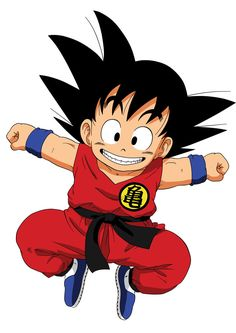 Sticker Poster Manga Dragon Ball Z Sangoku Enfant Songoku KID Eleve Senin A4 | eBay