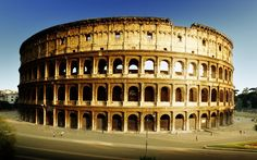 When the famous amphitheater by the name of the Colosseum was built in ancient…