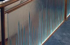 Glass Balustrade Staircase Railing - Design via www.trendsi.com