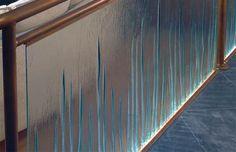 Glass Balustrade Staircase Railing - Design via www.trendsi.com
