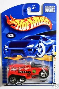 Mattel Hot Wheels 2001 First Editions XS-IVE No. 28/36 by 2001 Mattel. $0.01. Car # 28of 36 in Issue (XS_IVE)*collector #040. *ages 3 & up. 1:64 Scale Die cast. 2001 First Editions Issue. Mattel Hot Wheels 2001 First Editions Series 1:64 Scale Die Cast Metal Car # 28 of 36 : Red Rescue Field and Forest Firetruck XS-IVE (Collector No. 40)