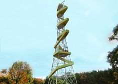 """Stockholm pylons converted into """"picnic towers"""" in Anders Berensson proposal"""