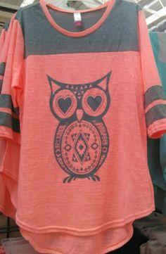 comfy tshirt - owl
