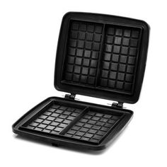 This thick cast aluminum waffle plate is used for any variety of stuffed waffles. Everyone can enjoy their favorite waffle-either sweet or savory-with fruits, cheeses, meats and our favorite, chocolate. Be  #favorite #enjoy #waffles