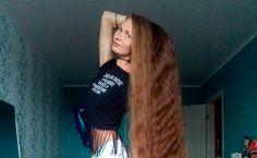 Wenn Daria Gubanova (27) ihre Haare bürstet, dann dauert das seeeehr lange. Der Grund: die Russin war seit 14 Jahren nicht mehr beim Friseur