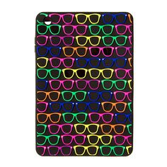 3D Silicone Rainbow Sunglasses Cover for iPad Mini | Claire's