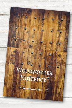 Plan your next woodworking project with the help of this note book, with a materials list and special pages for sketches to flesh out your ideas. Woodworking Journal, Woodworking Projects, Project Planner, Graph Paper, Bamboo Cutting Board, The Help, Sketches, Notebook, How To Plan