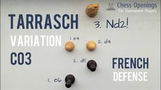Tarrasch Variation of the French Defense ⎸Chess Openings Importance Of Education, Art Through The Ages, Golden Rule, Time Magazine, Types Of Music, Great Friends, Chess, Training Exercises, Gingham