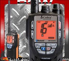 MRHH475FLTBT MARINE VHF RADIO COBRA Bluetooth & Rewind