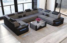 Premium Fabric Sofa Denver U