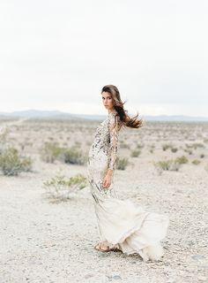 Geometric Desert Wedding Inspiration via oncewed.com