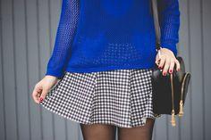 Melina Souza - Serendipity <3 Look http://melinasouza.com/2015/02/05/blue-cats-and-black-oxford/ #Look #Melina Souza #Serendipity