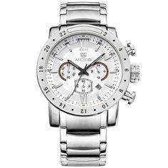 Cheap masculino, Buy Quality masculinos relogios directly from China masculino watch Suppliers: MEGIR Original Quartz Men Watch Big Dial Display Men Military Wristwatch Clock Waterproof Luminous Relogio Masculino Sport Watches, Watches For Men, Men's Watches, Wrist Watches, Nice Watches, Watches Online, Jewelry Watches, Top Luxury Brands, Casual Watches