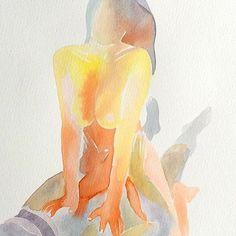 Make Love: las acuarelas eróticas de Tina Maria Elena - Cultura Inquieta Make Love, Body Sketches, Love Illustration, Art Pages, Erotic Art, Watercolor Paintings, Art Drawings, Wallpaper, Artwork