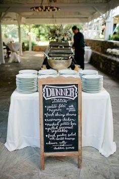 chalkboard wedding ideas we ♥ this! moncheribridals.com