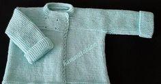 KOLAY BEBEK CEKETİ Malzemeler: 1 Yumak Nako baby lüks minnoş bebe yünü 3,5 numara şiş Hazırlanışı: ÖN: Şişimize 40 ... Knit Vest, Baby Cardigan, Baby Knitting Patterns, Crochet Baby, Knit Crochet, Pullover, Baby Booties, Sweaters, Diy Gifts