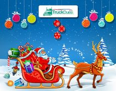 TruckDues.com #wishes every #hardworking #Trucker a #MerryChristmas & a Prosperous #Newyear.  http://blog.truckdues.com/the-turkeys-gone-now-its-merry-christmas-wishes-from-truckdues-com/