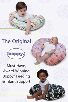 This is an award-winning pillow for a reason. It lifts your baby to a more comfortable position for breastfeeding and bottle feeding, giving relief to your arms and back. It also assists your baby through different stages of development and is great for propping, tummy time and sitting. Join Boppyhood and get 10% off your first order. Plus, you'll be the first to hear about new products and upcoming sales.