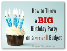 How To Throw A BIG (50th) Birthday Party on a Small Budget. #birthday #DIY #budget #frugal #thrifty #couponing #entertaining #thrifting
