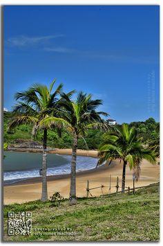 Praia de Bacutia - Guarapari, Espirito Santo, Brazil