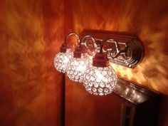 {SIERRAu0027s Bathroom Lights} Portfolio 4 3/4 In Crystal Vanity Light