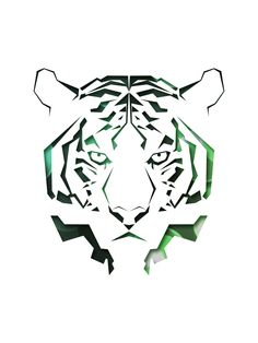 Tiger | By: chuypasillas, via Abduzeedo
