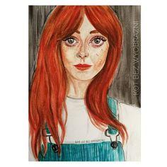 """Polubienia: 34, komentarze: 3 – Kot bez wyobraźni (@kotbezwyobrazni) na Instagramie: """"Inspired by @_jemmawade You are truly beauty 💛 _________________ #art #artdaily…"""""""