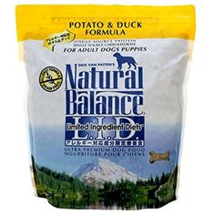 Natural Balance Natural Balance Duck and Potato Formula for Dogs Lid Duck & Potato Formula Dry D Dry Food ~~~ The details can be found by clicking on the image. (This is an affiliate link and I receive a commission for the sales) Dog Food Recipes, Snack Recipes, Premium Dog Food, Dry Dog Food, Dogs And Puppies, Potatoes, Diet, Natural, Photograph