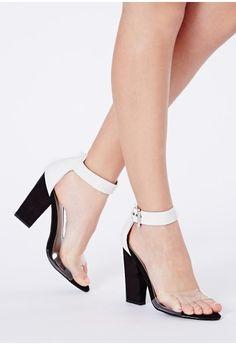 Barbie Black Sandals With Block Heel - Footwear - Shoeniverse - Missguided