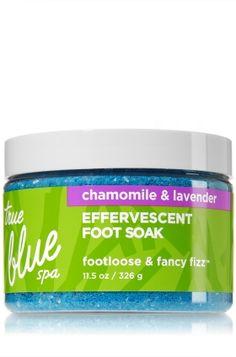 Effervescent Foot Soak - Footloose and Fancy Fizz - True Blue® Spa - Bath & Body Works