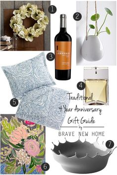 4 Year Anniversary On Pinterest 4th Anniversary Gifts 6