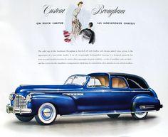 1941 Buick Limited Custom Brougham by Brunn Coachwork