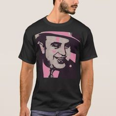 Al Capone Pop Art T-Shirt - tap to personalize and get yours Al Capone, Graphic Shirts, Tshirt Colors, Pop Art, Fitness Models, Casual, Sleeves, Mens Tops, T Shirt