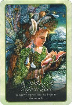 Lá Be Willing To Express Love – Whispers of Love Oracle Cards Angel Guidance, Spiritual Guidance, Whisper Love, Love Oracle, Rivers Of Living Water, Mystic Quotes, Josephine Wall, Warrior Quotes, Oracle Cards