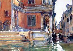 www.wikiart.org: John Singer Sargent, Scuola di San Rocco(1903)