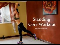 15 Minute Standing Ab Workout: No Crunch Core Exercises | Bender Fitness