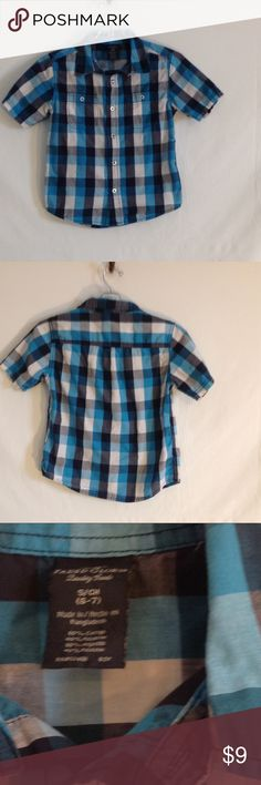 Boy's plaid button down shirt Great condition, classic! Shirts & Tops Button Down Shirts