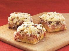 Coconut Cherry Bars Recipe
