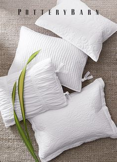 Upgrade your pillows for the new year with organic cotton, eco-friendly TENCEL® and luxurious Belgian flax linen.
