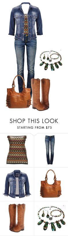 """""""How to Wear Frye"""" by michigangirl84 ❤ liked on Polyvore featuring M Missoni, True Religion, maurices and Frye"""