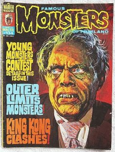 Famous Monsters of Filmland Magazine #134 VG/F Warren Publishing May 1977 Issue