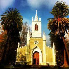 Iglesia de Pintue Lago Aculeo  Chile
