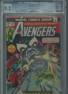 AVENGERS #125 CGC Grade 9.2 Bronze Age gem! Great Thanos appearance! http://r.ebay.com/9XUyHw