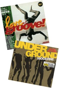 Underground + Love Groove Pack de 2 compilations Radio Nova http://www.originalmusicshirt.com/underground-love-groove.htm
