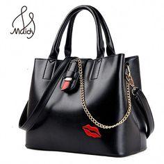 8c3085ef2994 Classic Tote Handbag Women Shoulder Bag Flap Chain Vintage Messenge Italian Leather  Bags Designer Brand Female