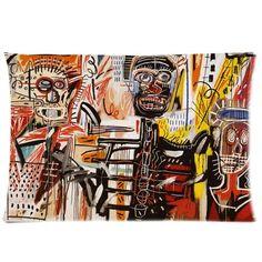 jean michel basquiat Zippered Pillow Case Cushion Case Pillow Cover 20x30(two sides) Jean-Michel Basquiat http://smile.amazon.com/dp/B00IPZZSHW/ref=cm_sw_r_pi_dp_EpTzwb0HV5RJW