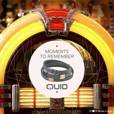 #OnThisDay in 1889 the first jukebox went into operation: a #specialday for #music lovers! Share with us your special dates and receive a #discount for the purchase of a Quid #jewel. #personalized #personalizedjewel #jewelry #uniquegift #FunFacts #today