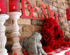 valentine home decor | Inexpensive Decorations for St. Valentine's Day « The Seasonal Home